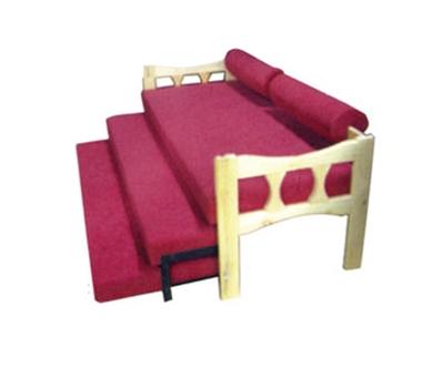מיטות: ספת נוער נפתחת ל-3 מיטות דגם 5403