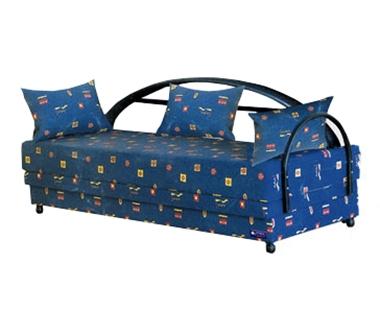 מיטות: ספת נוער+ מיטה דגם 7403