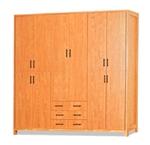 תמונה של ארונות בגדים: ארון 6 דלתות במחיר משתלם דגם קרין