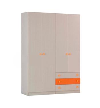 ארונות בגדים: ארון בגדים ארבע דלתות דגם c10