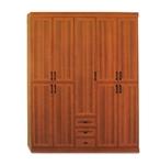תמונה של ארונות בגדים: ארון 5 דלתות במחיר משתלם דגם נעמה
