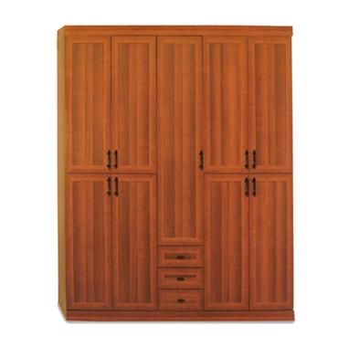 ארונות בגדים: ארון 5 דלתות במחיר משתלם דגם נעמה