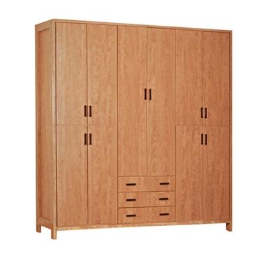 ארונות בגדים: ארון 6 דלתות ארבע מגירות דגם גבי