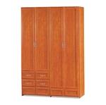 תמונה של ארונות בגדים: ארון 4 דלתות + 4 מגירות דגם ליז