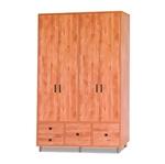 תמונה של ארונות בגדים: ארון 4 דלתות במחיר משתלם דגם קארי
