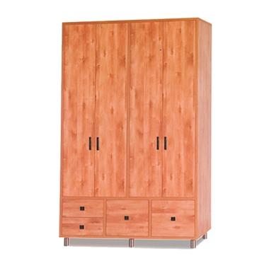 ארונות בגדים: ארון 4 דלתות במחיר משתלם דגם קארי