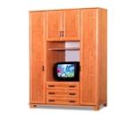 תמונה של ארונות בגדים: ארון 4 דלתות במחיר משתלם דגם הדר