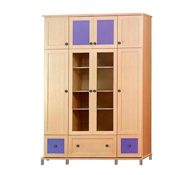 ארונות בגדים: ארון  4 דלתות מעוצב דגם יער