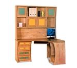 תמונה של שולחנות מחשב: שולחן + כוורת לחדר ילדים דגם אבירם