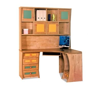 שולחנות מחשב: שולחן + כוורת לחדר ילדים דגם אבירם