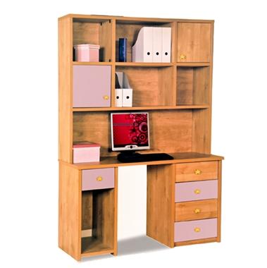 תמונה של שולחנות מחשב: שולחן + כוורת לחדר ילדים דגם אבינעם