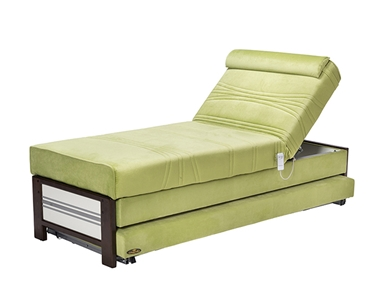 מיטות: ספת נוער מתכווננת + מיטה נגררת על קל דגם מגנום