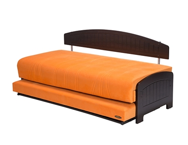 תמונה של מיטות: ספת נוער מתכווננת + מיטה נגררת על קל דגם רמי