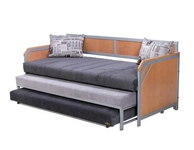 מיטות: ספת נוער + מיטה נגררת + מיטה על קל דגם מאסט