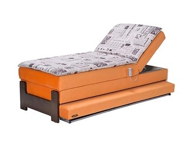 מיטות: ספת נוער מתכווננת + מיטה נגררת על קל דגם אקסטרה מדי