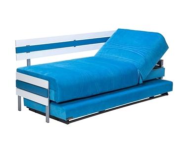מיטות: ספת נוער + מיטה נגררת על קל דגם דורה