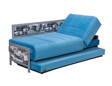 מיטות: ספת נוער + מיטה נגררת על קל דגם פוסט