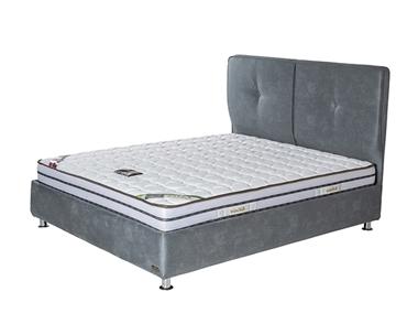 מיטות: מיטה זוגית מרופדת דגם ריו