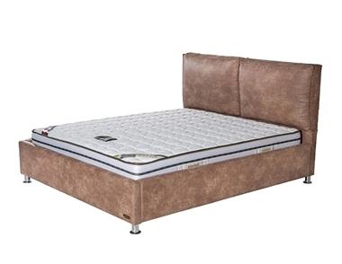 מיטות: מיטה זוגית מרופדת דגם טוקיו