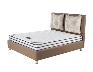 מיטות: מיטה זוגית מרופדת דגם ונציה