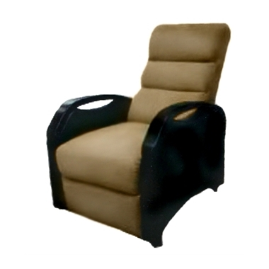 תמונה של כורסאות: כורסאת טלוויזיה מעולה מדמוי עור, אורטופדית, דגם ארז