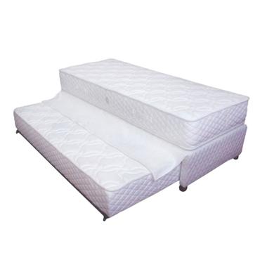 מיטות מיטת יחיד + מיטה נגררת על קל דגם סופר אורטופדי
