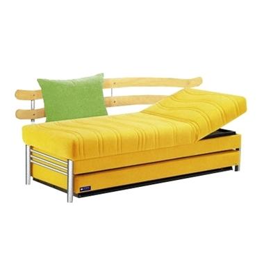 תמונה של ספת נוער דגם 3037 מתכווננת עם ארגז ומיטה נוספת