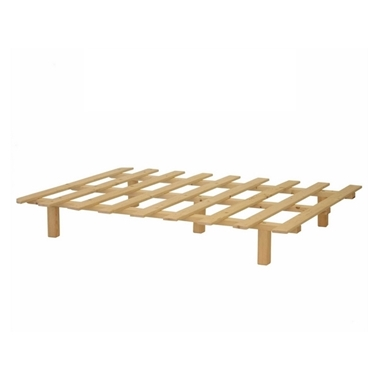 תמונה של מיטות: בסיס מיטה יחיד מעץ מלא ומאסיבי דגם סלבדור