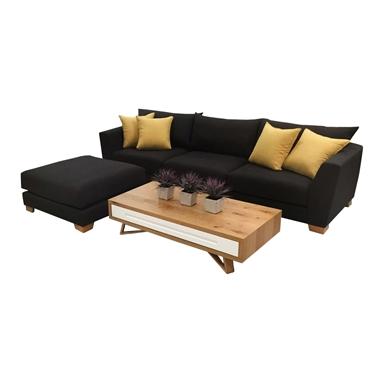 מערכות ישיבה: סלון תלת + הדום דגם DINA