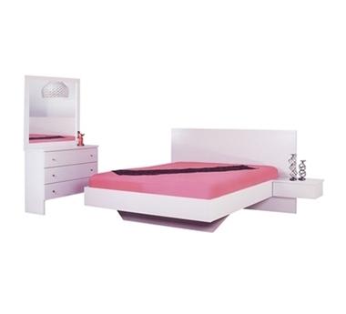 חדרי שינה: חדר שינה זוגי עץ מלא דגם ליאל