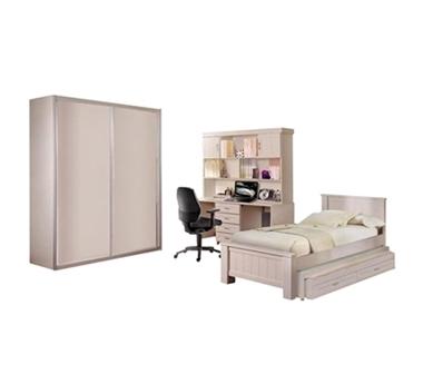 חדרי ילדים: חדר שינה לנוער וילדים מרהיב ביופיו דגם עוז