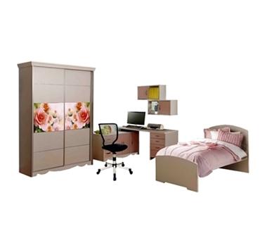 חדרי שינה: חדר שינה מרהיב ביופיו כולל הכל דגם עמית