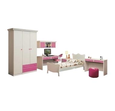 חדר ילדים קומפלט עם כוורת ושולחן עבודה דגם תמי