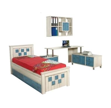 חדרי ילדים:  חדר ילדים קומפלט דגם אילת
