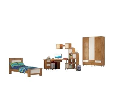 חדרי ילדים: חדר ילדים דגם אביאל