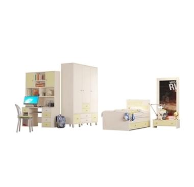 חדרי ילדים: חדר ילדים מרהיב ביופיו כולל הכל דגם קרליין