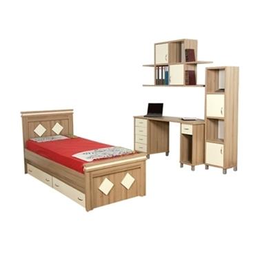 חדרי ילדים: חדר ילדים קומפלט דגם יחיאל