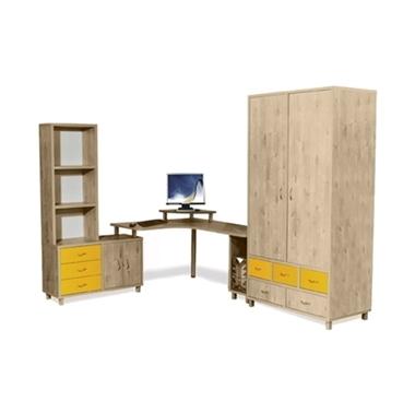 חדרי ילדים: חדר לילדים קומפלט דגם שמש