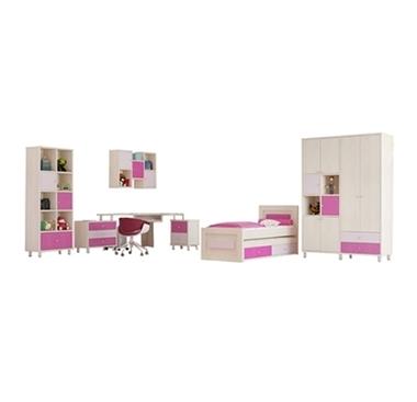 חדרי ילדים: חדר שינה לילדים מרהיב ביופיו כולל הכל דגם פרינסס