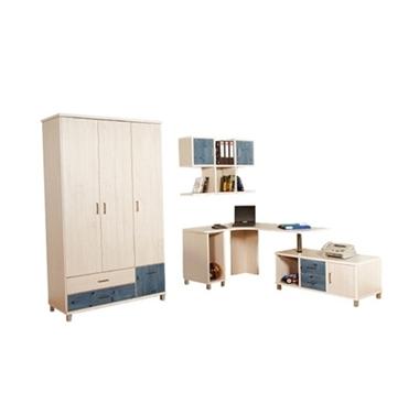 חדרי ילדים: חדר ילדים קומפלט דגם ליאל
