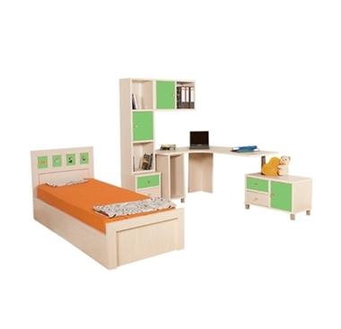 חדרי ילדים: חדר ילדים קומפלט דגם עוזיאל