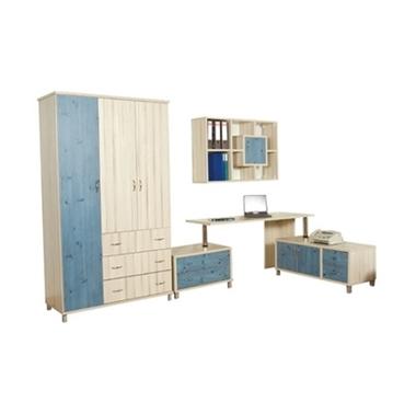 חדרי ילדים: חדר ילדים קומפלט דגם שיראל