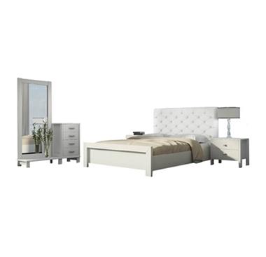 חדרי שינה: חדר שינה זוגי מרהיב ביופיו דגם ולנטינו