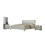 תמונה של חדרי שינה: חדר שינה זוגי מרהיב ביופיו דגם דורין
