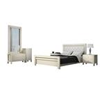תמונה של חדרי שינה: חדר שינה זוגי, מלא, במחיר מעולה דגם מדריד