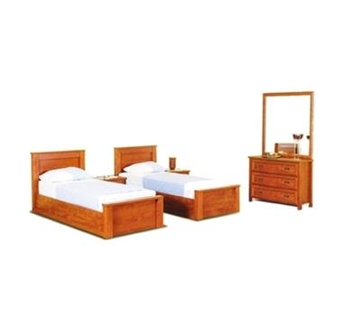 חדרי שינה: חדר שינה בהפרדה יהודית במחיר מעולה דגם מור