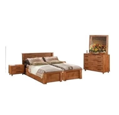 תמונה של חדרי שינה: חדר שינה הפרדה יהודית ראש אחיד דגם כרמית
