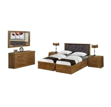 תמונה של חדרי שינה: חדר שינה הפרדה יהודית ראש אחיד דגם סלוניקי