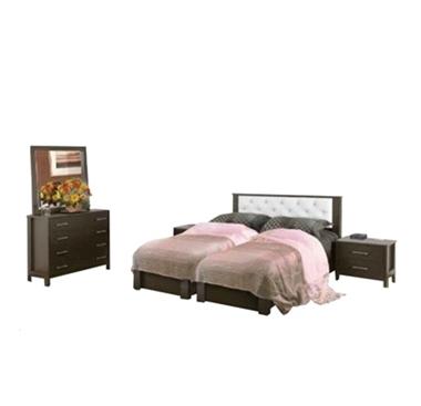 תמונה של חדרי שינה: חדר שינה הפרדה יהודית ראש אחיד דגם צליל