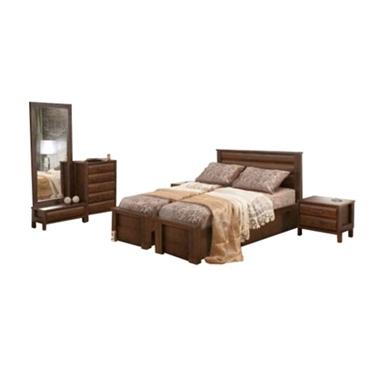 חדרי שינה: חדר שינה הפרדה יהודית ראש אחיד דגם קים